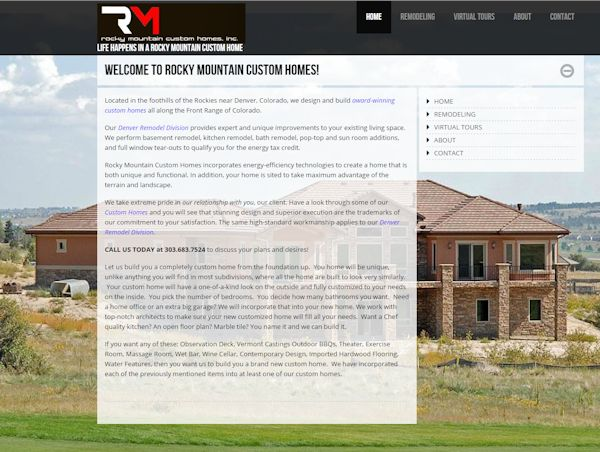 Rocky Mountain Custom Homes