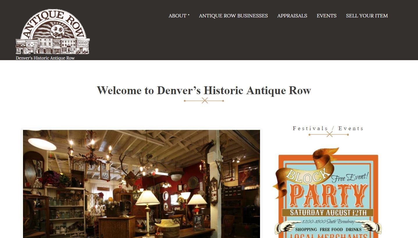 antique row